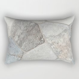Natural Stone Wall Rectangular Pillow