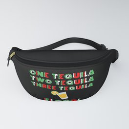 One Tequila, Two Tequila, Three Tequila Floor product Fanny Pack