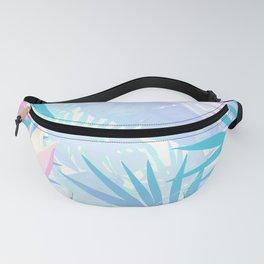 Pastel Rainbow Tropical Paradise Design Fanny Pack