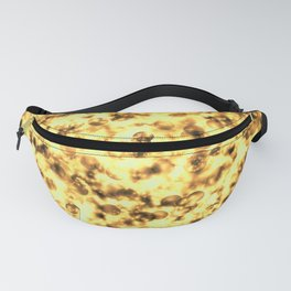 Warm Festive Gold Light Holiday Texture Fanny Pack