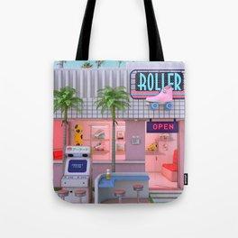 Roller Skate Nostalgia Tote Bag