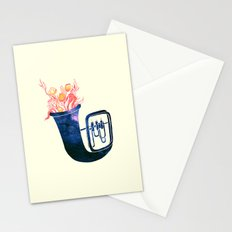 Natural Trumpet Stationery Cards