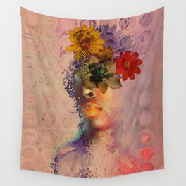 Distant Spring Dreams Wall Tapestry