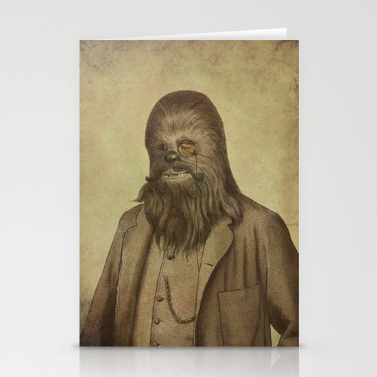 Chancellor Chewman  Stationery Cards