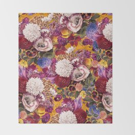 EXOTIC GARDEN XIII Throw Blanket