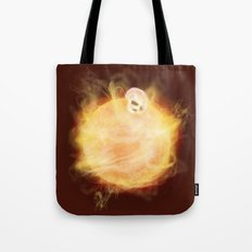 Lost in a Space / Sunlion Tote Bag