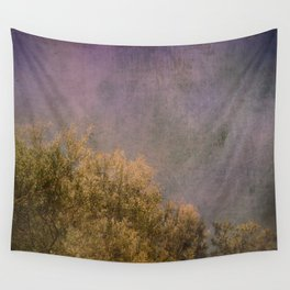 Abstract trees Wall Tapestry