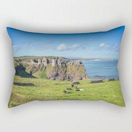 The Atlantic Ruin Rectangular Pillow