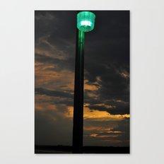 Pier Light Canvas Print