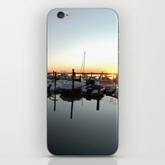 Sunset Pier iPhone & iPod Skin