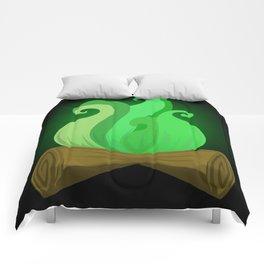 Toxic fire Comforters