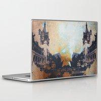 castlevania Laptop & iPad Skins featuring Castlevania by Esco