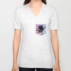 Single Palm Unisex V-Neck