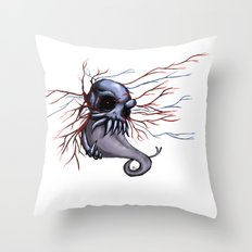Veins  Throw Pillow