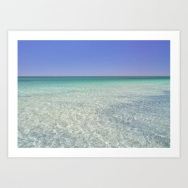 Crystal Clear Art Print