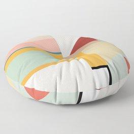 modern abstract II Floor Pillow