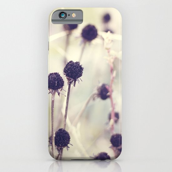 Charcoal stems iPhone & iPod Case