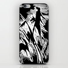 Animals and humans iPhone & iPod Skin