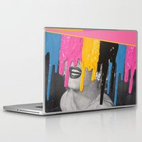celebrity Laptop & iPad Skins featuring Celebrity Syrup by Eugenia Loli