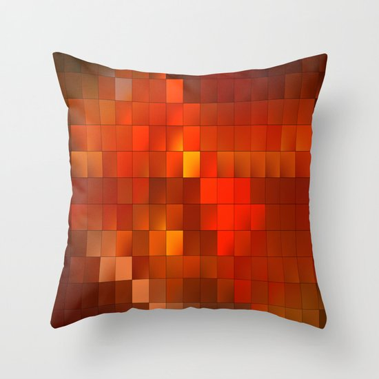 light squares Throw Pillow