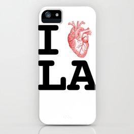 I Love LA iPhone Case