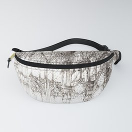 Cathedral ink Fanny Pack
