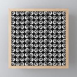 Black and White 6 B Framed Mini Art Print