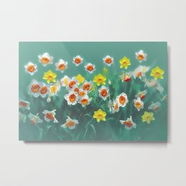 Joyful Spring Metal Print
