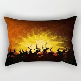 Trembling Sunset Rectangular Pillow