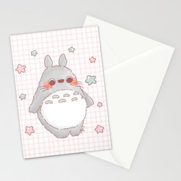 Estrellas Pastel Stationery Cards