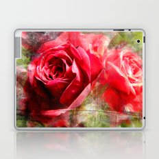 Red Roses Bouquet Laptop & iPad Skin