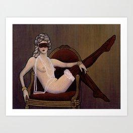 rococonouveau Art Print