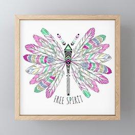Free Spirit Framed Mini Art Print