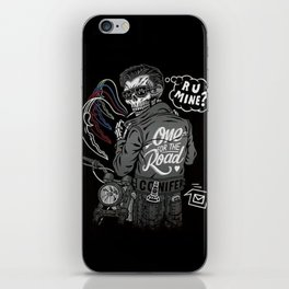 R U Mine? (Black BG) iPhone Skin