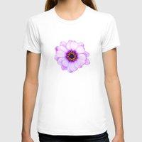 purple T-shirts featuring Purple  by Loredana:Flowers