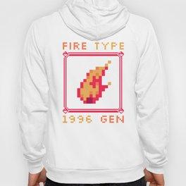 Fire Type Hoody