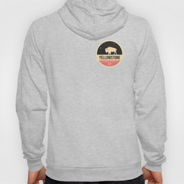 Yellowstone National Park Badge Hoody