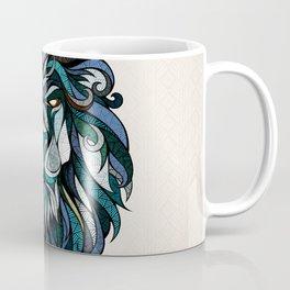 Blue Lion Coffee Mug