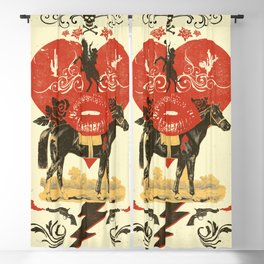 GOTHIC COWBOY Blackout Curtain
