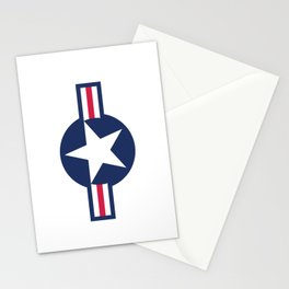 US Air-force plane roundel Stationery Cards