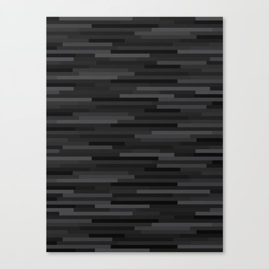 Black Estival Mirage Canvas Print