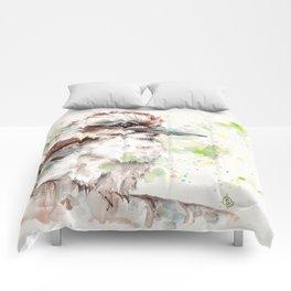 A Kookaburras Gaze Comforters