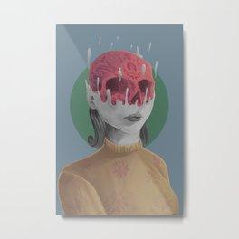 MERGE Metal Print