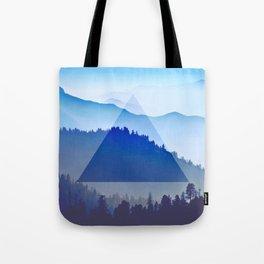 The Mountain Eye  Tote Bag