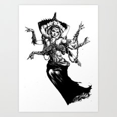 Goddess - Kali Art Print