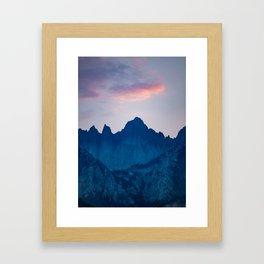 Mt. Whitney Framed Art Print