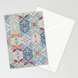 Traditional Collage Design Stationery Cards