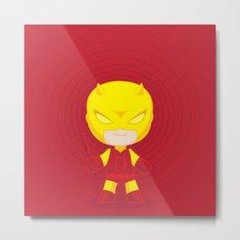 Daredevil Yellow Metal Print