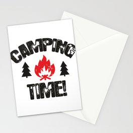 Camping Time Stationery Cards