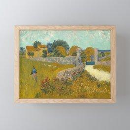 Vincent van Gogh - Farmhouse in Provence Framed Mini Art Print
